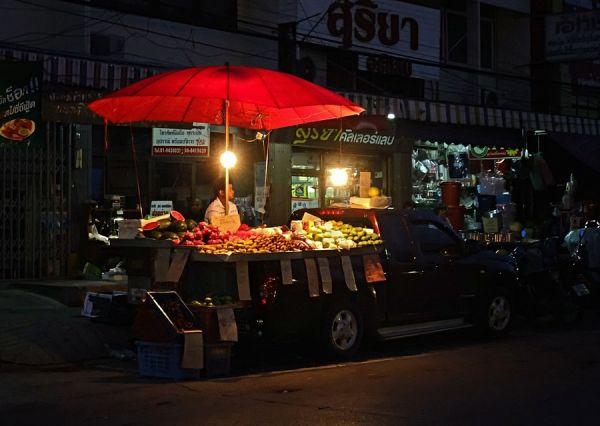 Late Night Street Vendor