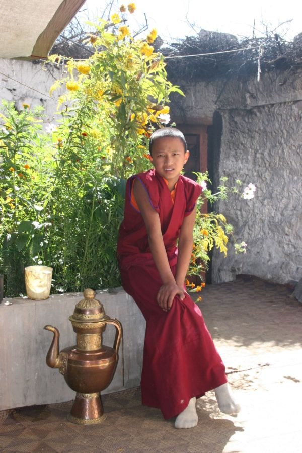 young monk in Ladakh