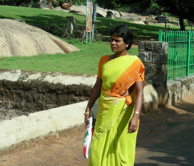 an indian tourist