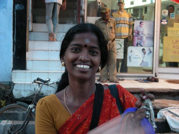 in the street, in Bangalore