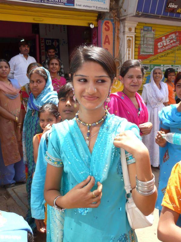 beautiful young woman in Gujarat