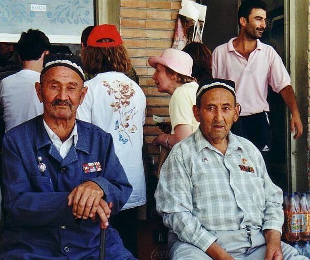 two veterans in Tashkent - Ouzbekistan