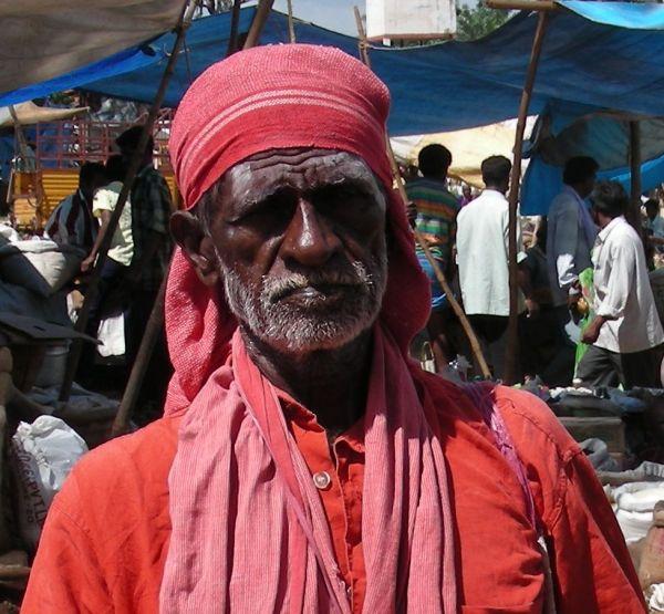 shadu portrait  in south india