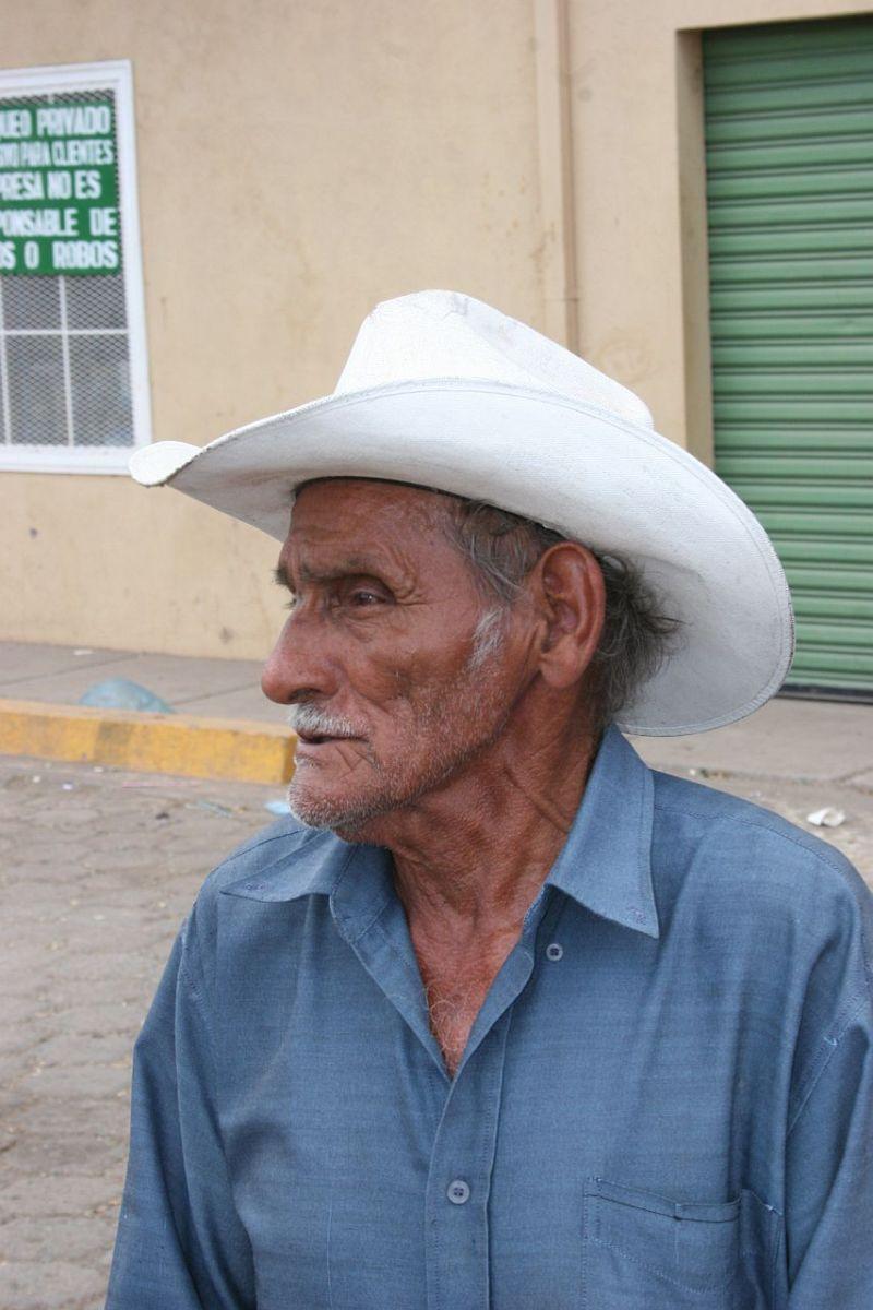 cowboy's portrait