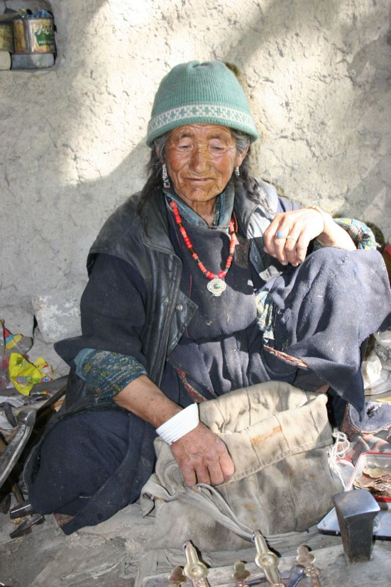 super mammy in Ladakh country