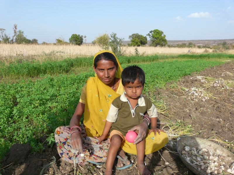 rural live in India