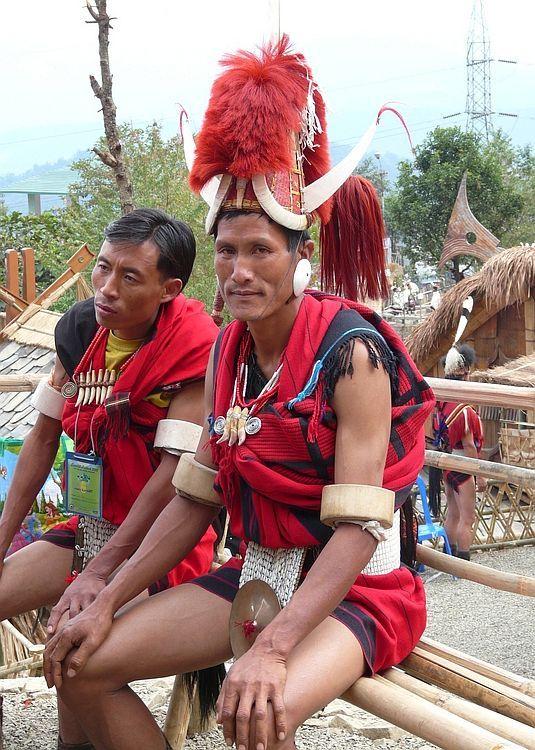 Nagaland's festival 2009; a dancer