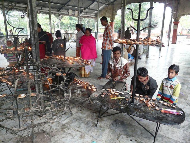 inside a temple of Jorhat - Assam