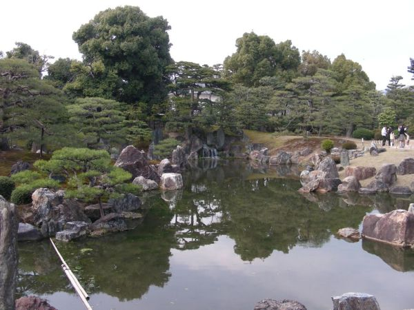 Ninomaru garden in Kyoto - Japan