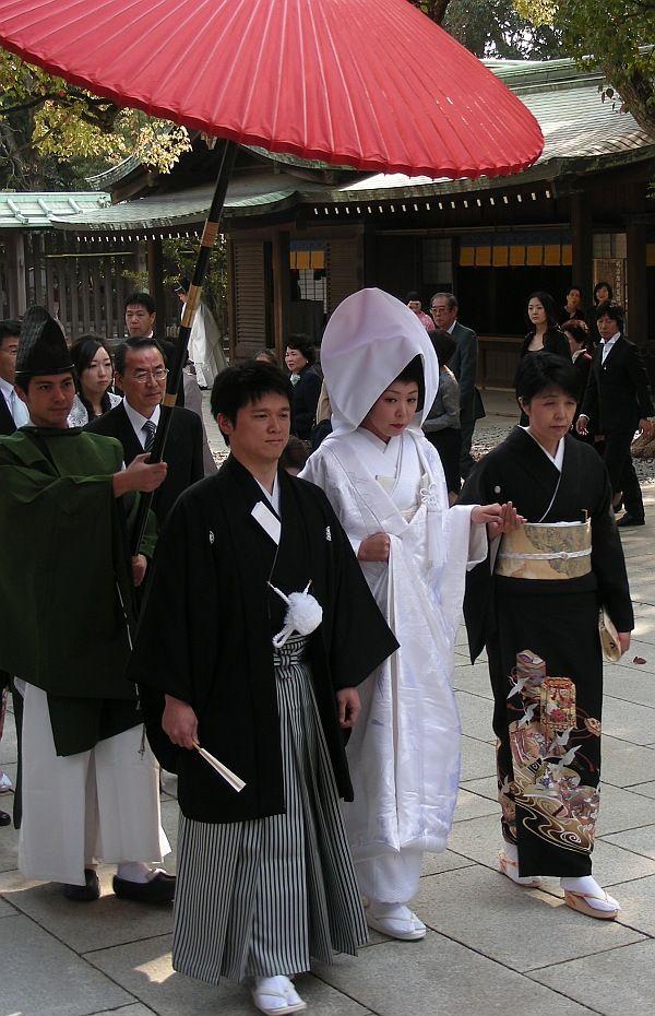 wedding day in Tokyo