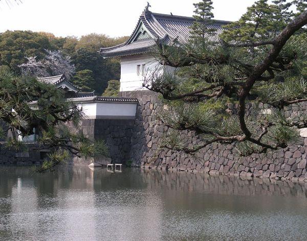 le palais impérial à Tokyo
