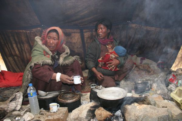 hard nomad people life in Ladakh