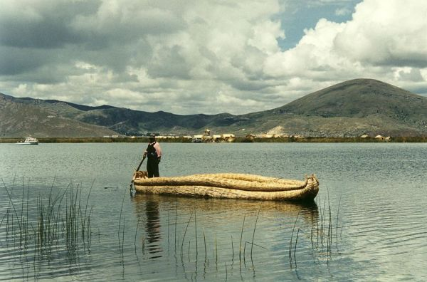 Titicaca lake in Peru