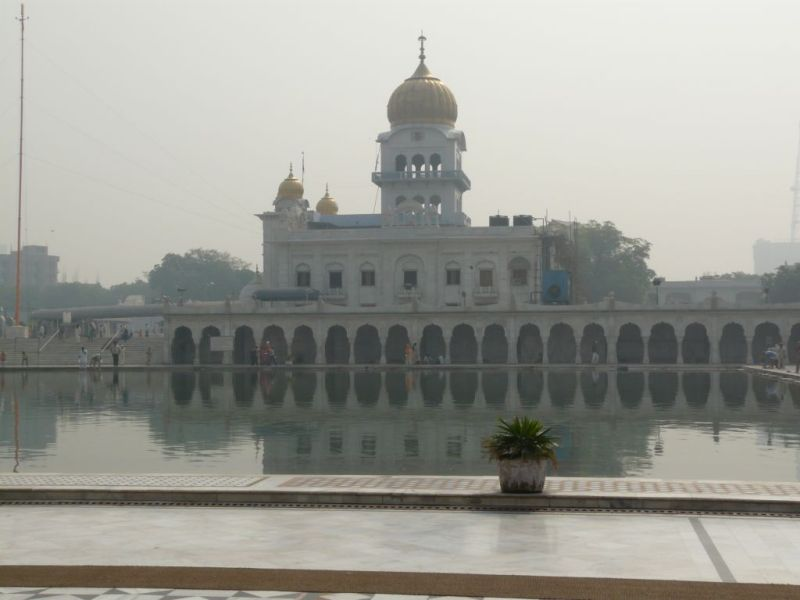 sikh temple  Gurudwara sis Ganj in Delhi