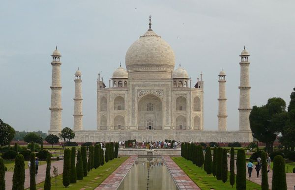 le Taj Mahal à Agra