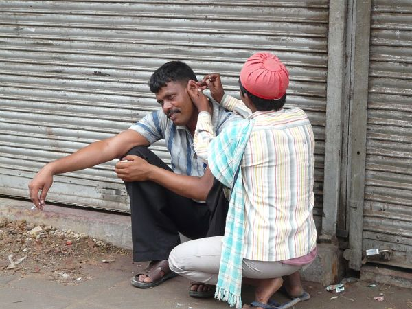 ears hairs cutter, a good job in India