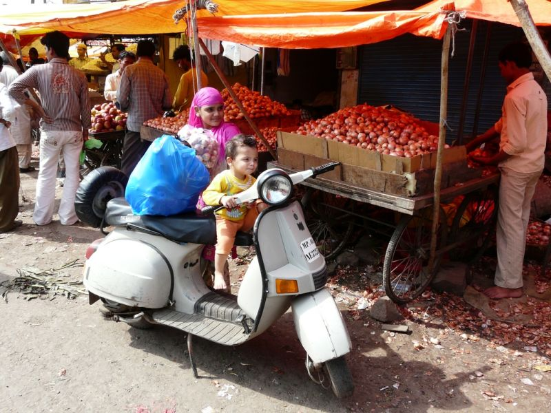 street capture in Bhopal
