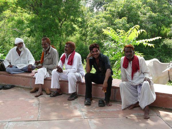morning's men meeting; hard work