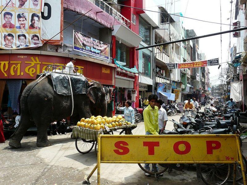 street capture in Indore
