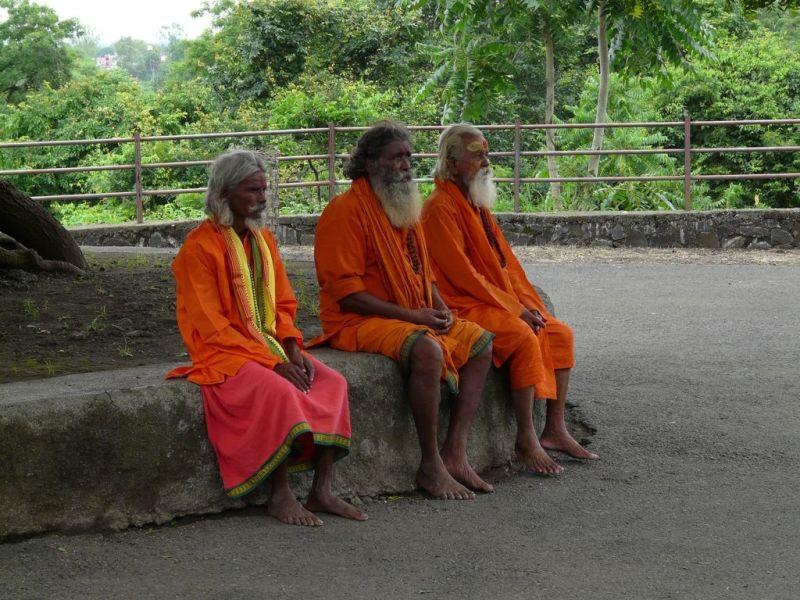 en visite à Ajanta