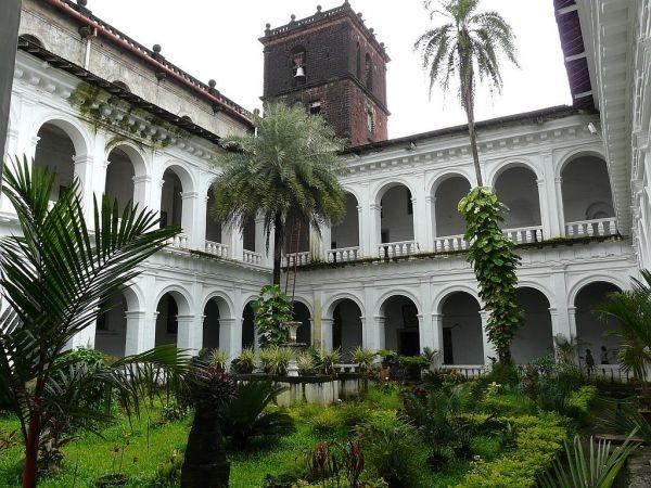 couvent du bon Jesus à Goa