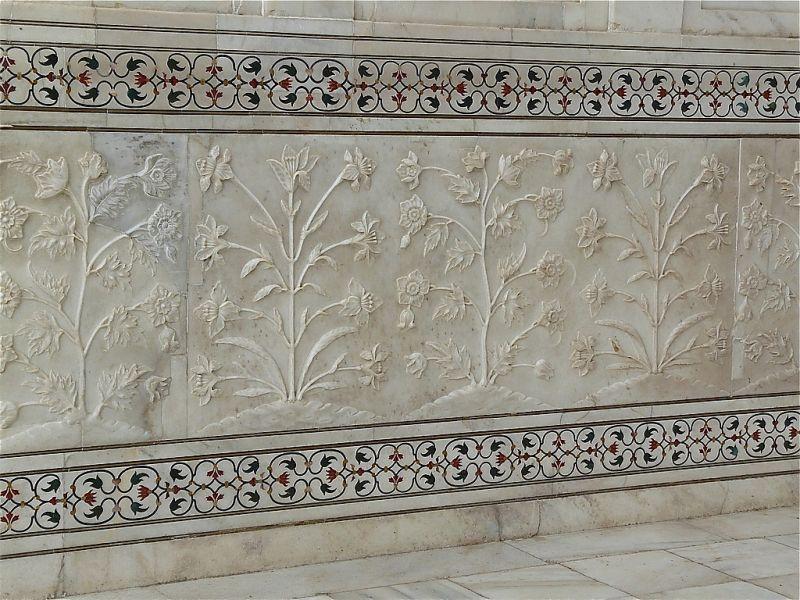 de superbes motifs moghols ou persans