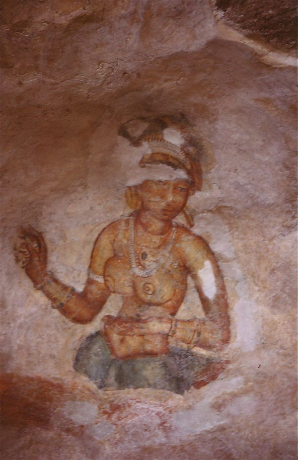 les demoiselles de Sigirya au Sri Lanka 4
