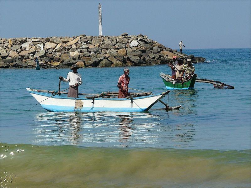 portrait de petits pêcheurs