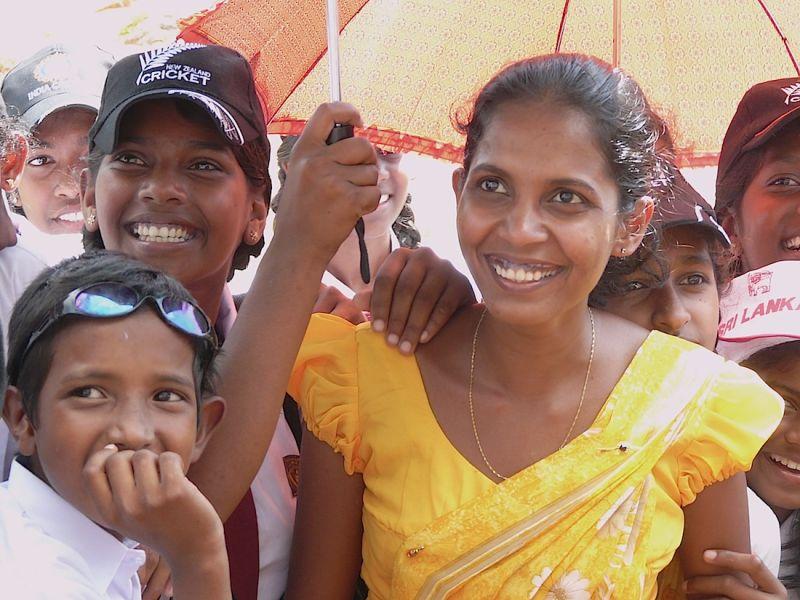 a teacher visit Sigiriya with children
