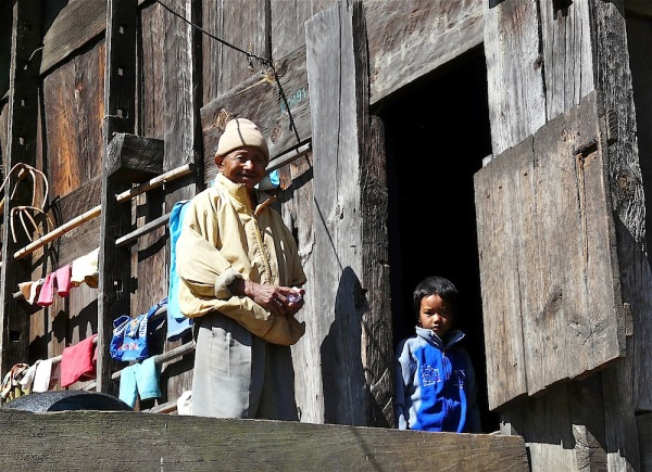 scène de la vie quotidienne en Arunachal pradesh