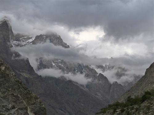 Himalaya landscape in India