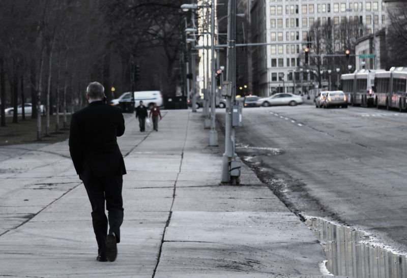 Chicago Street near loop