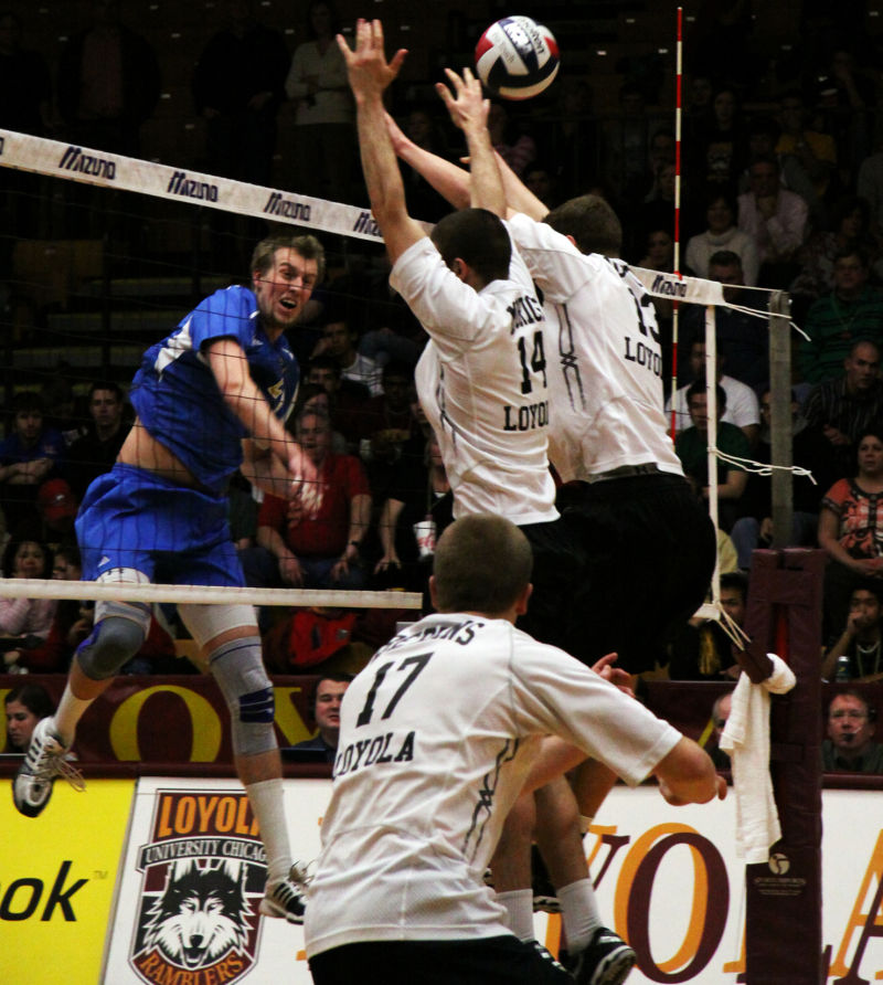 UCLA Loyola men's volleyball game