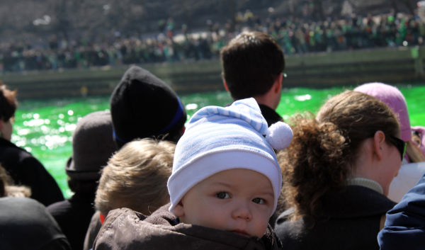 Baby Chicago St. Patrick's Day Green River