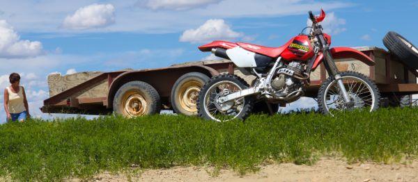 Honda Dirt bike Sand dunes