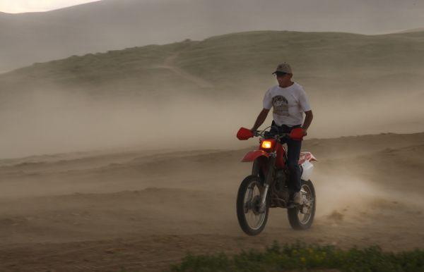 Ride Wyoming Sand Dunes Dirt bike