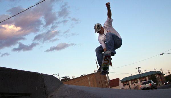 Rock Springs Wyoming Skate Tom Hawks