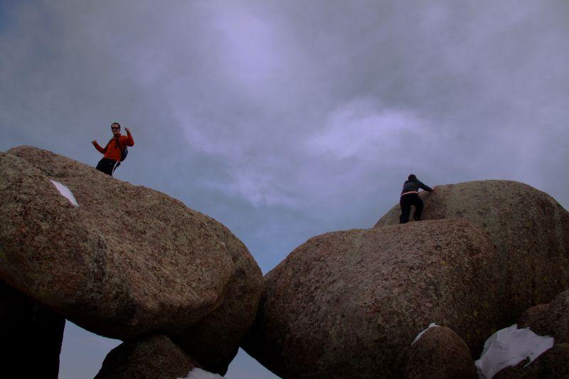 Ben Weber Joe Hampton Rock Climb