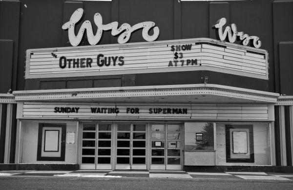 The Wyo in Laramie Wyoming Movie Film Photography