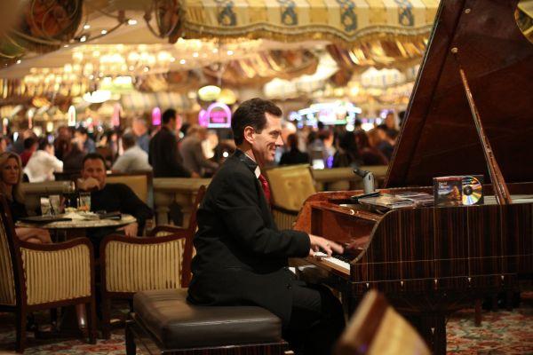 Piano Man Las Vegas Mark Pedri Bellagio Nevada