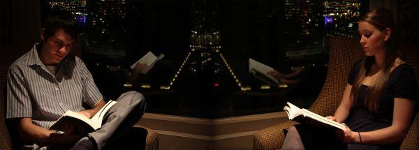 Bellagio Las Vegas Read Reflect Mark Carrie