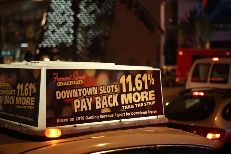 Las Vegas Nevada Slots Taxi Strip