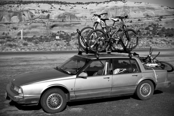 Car Rig Loaded to the Max Bikes Class
