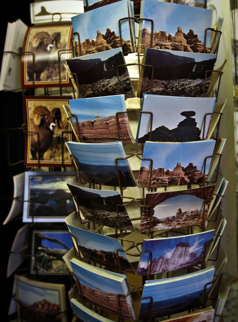 Retro Vintage Post Cards Moab