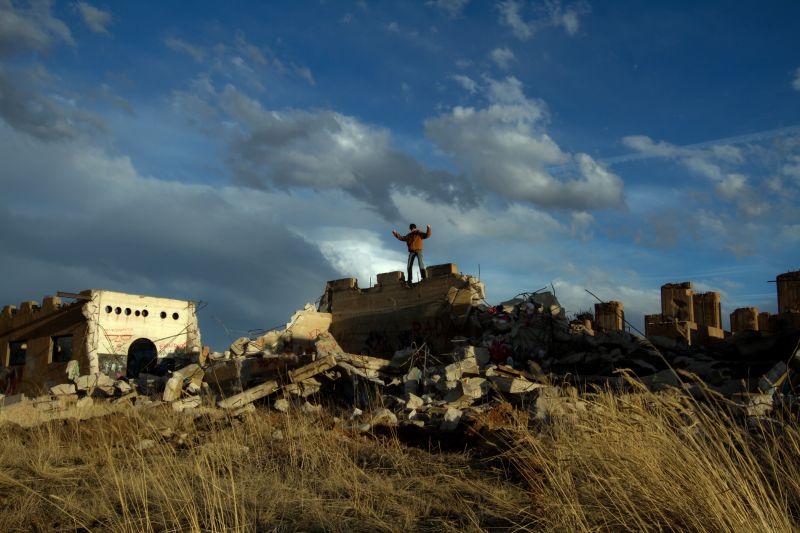 Mark Pedri Laramie Wyoming Junk Yard