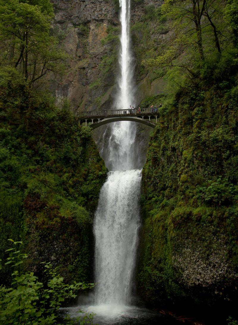 Portland Northwest Huge Waterfall