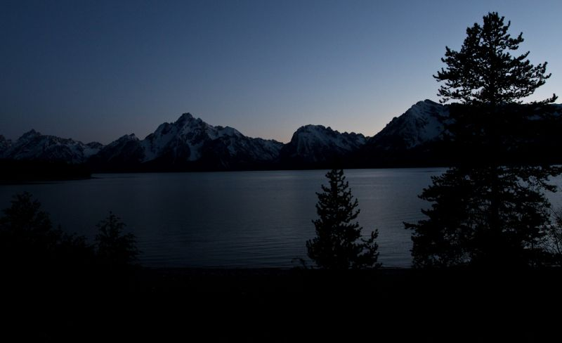 Lake in the Tetons
