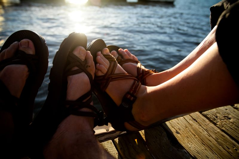 Energy Oh Energy Feet Chaco Sandals Toes Sunset
