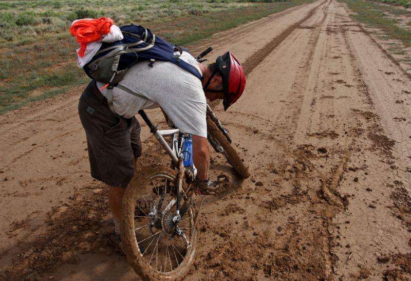 Roger Mud Film Amazing Crazy Wyoming Yeti Cycle