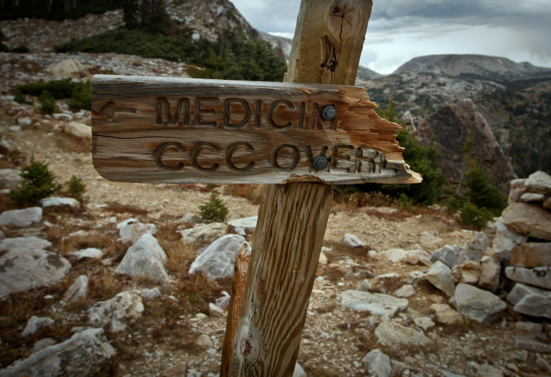 Laramie Wyoming Medicine Bow Peak Snowy Mountains